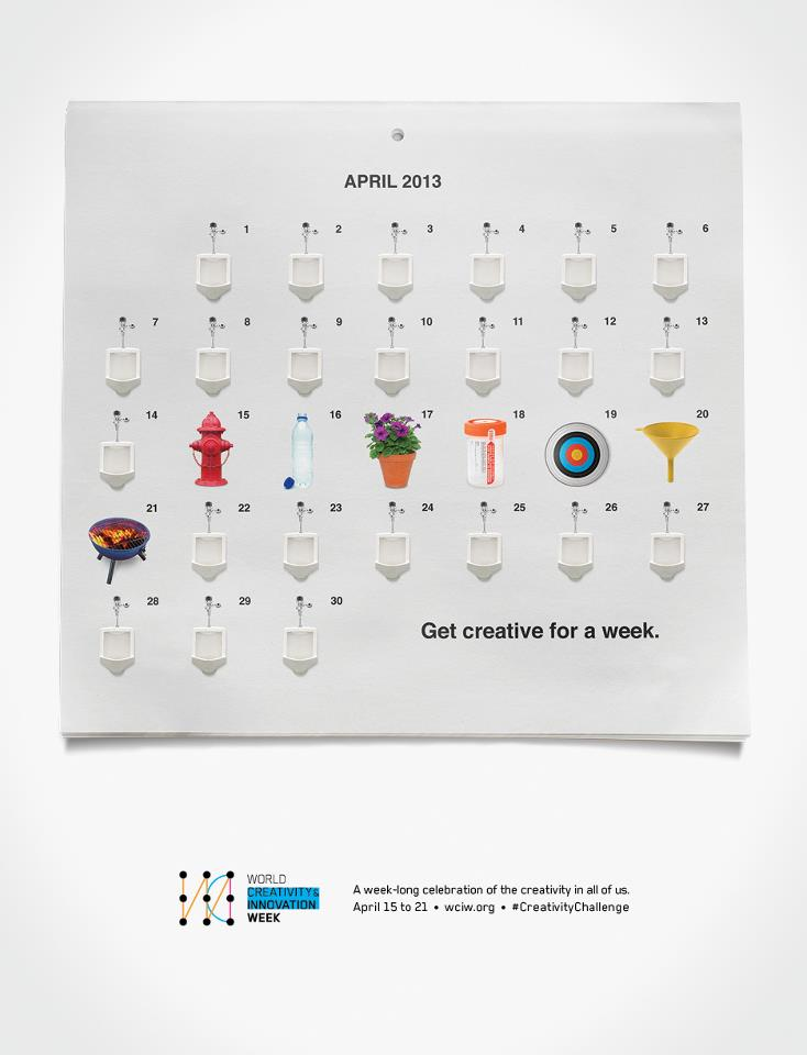 World Creativity and Innovation Week April 15-21