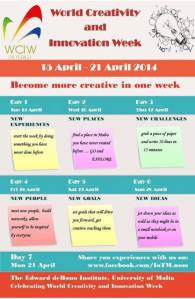 Malta_World Creativity and Innovation Week April 15 to 21 _2014